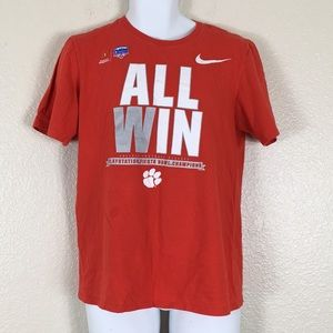 🌶4 For $20 Nike Clemson tigers all win T-shirt M
